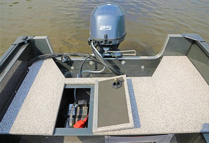 2021 MirroCraft Boat  Mercury Motor (Package) Outfitter Side Console 145SC-O - 20T - Blue Photo 18 of 21