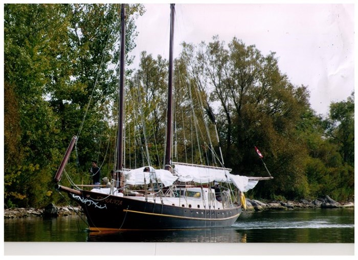1989 Hans Kol Schooner Photo 5 sur 40