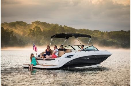 2021 Sea Ray SDX 250 Photo 1 sur 12