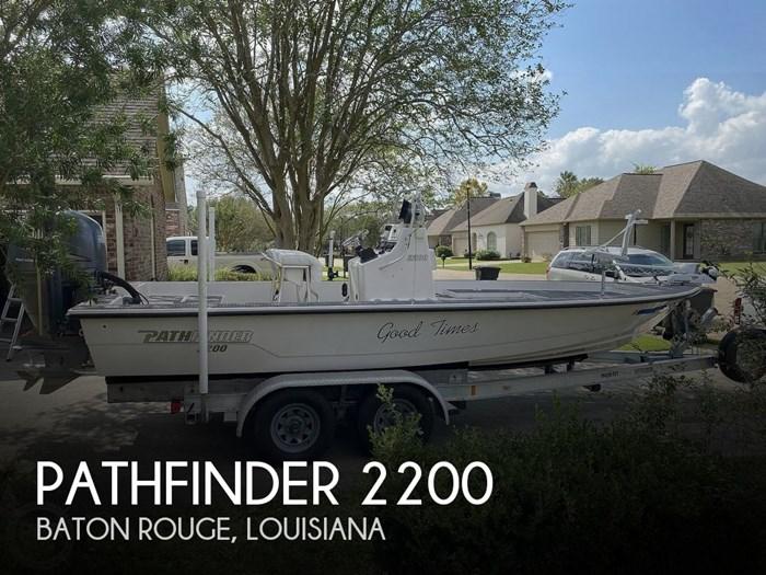 2003 Pathfinder 2200 Photo 1 sur 20