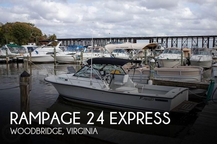 1988 Rampage 24 Express Photo 1 of 20