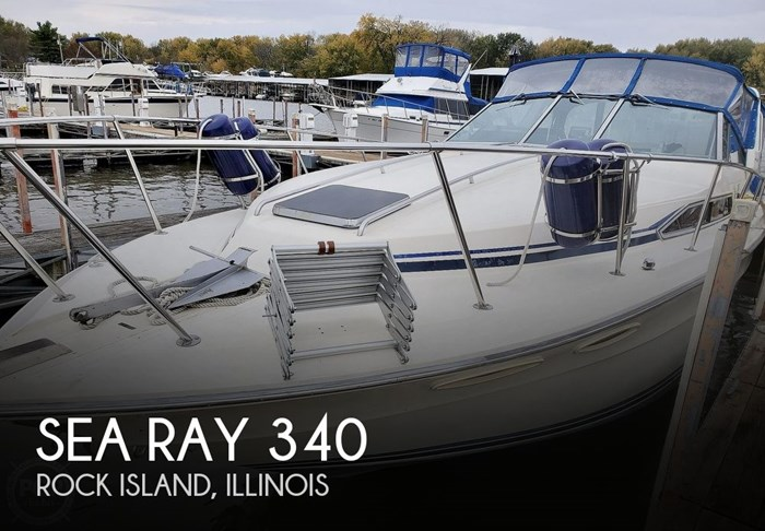1986 Sea Ray 340 Sundancer Photo 1 sur 21