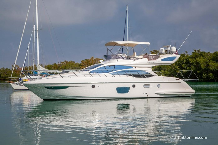 2009 Azimut Flybridge Photo 2 sur 75