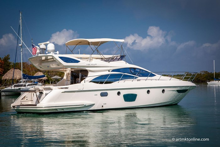 2009 Azimut Flybridge Photo 3 sur 75