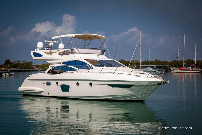 2009 Azimut Flybridge Photo 6 sur 75