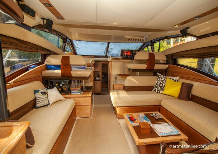 2009 Azimut Flybridge Photo 9 sur 75