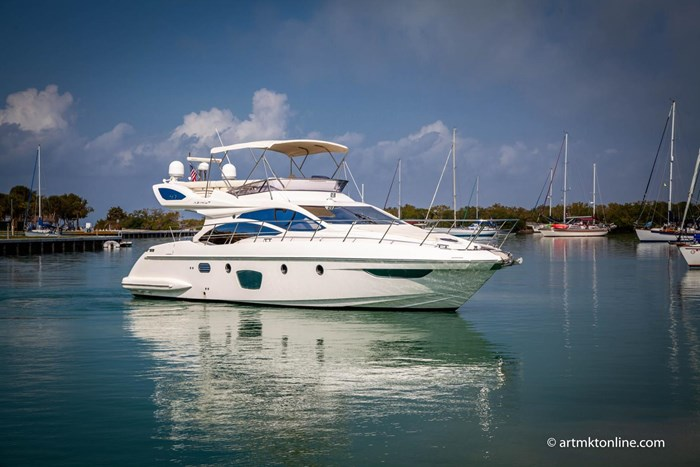 2009 Azimut Flybridge Photo 15 sur 75