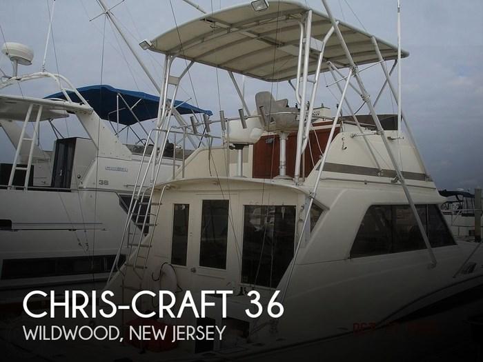1980 Chris-Craft 36 Commander Photo 1 sur 20