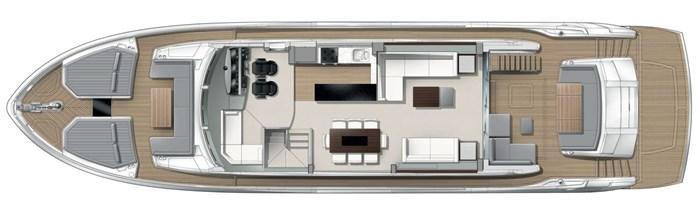 2021 Sunseeker 76 Yacht Photo 21 sur 22