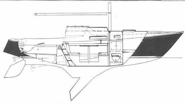 1969 Paceship Northwind 29 CB Sloop Photo 15 sur 26
