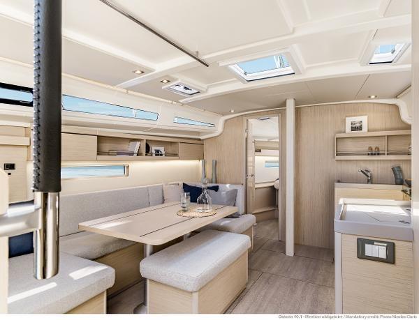 2021 Beneteau Oceanis 40.1 Photo 16 sur 16