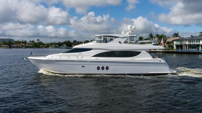 2012 Hatteras 80 Motor Yacht Photo 3 sur 31