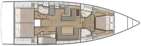 2022 Beneteau Oceanis 51.1 Photo 2 sur 12