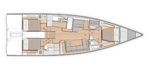 2021 Beneteau Ocean Yacht 54 Photo 10 sur 10