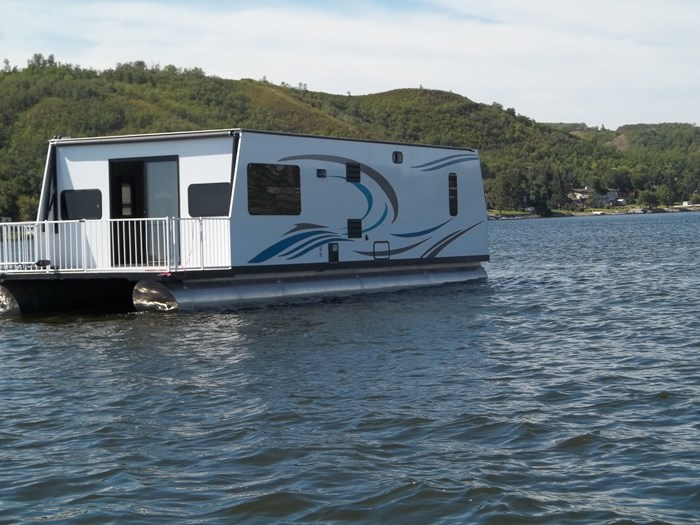 2020 custom built houseboat Photo 1 of 9