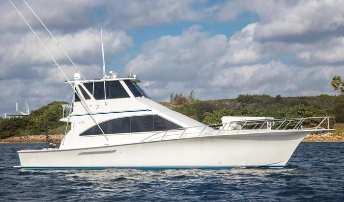 2000 Ocean Yachts Photo 9 sur 70