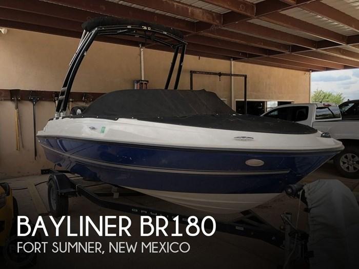 2017 Bayliner 180 BR Photo 1 sur 20