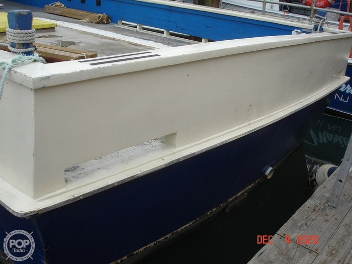 1977 Custom Cross plank work boat Photo 10 sur 20