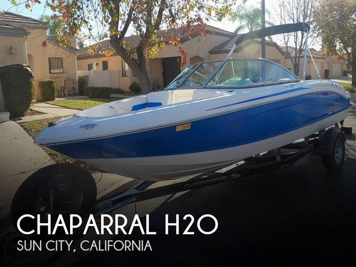 2017 Chaparral H2O Sport Deluxe Photo 1 sur 20