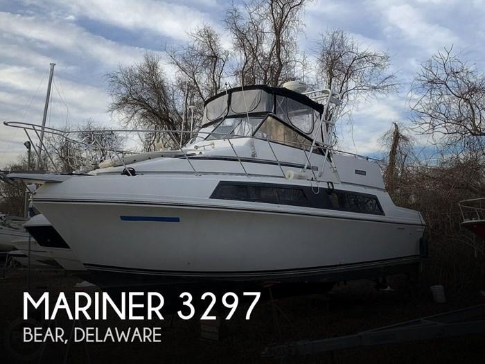 1986 Carver 3297 Mariner Photo 1 sur 20