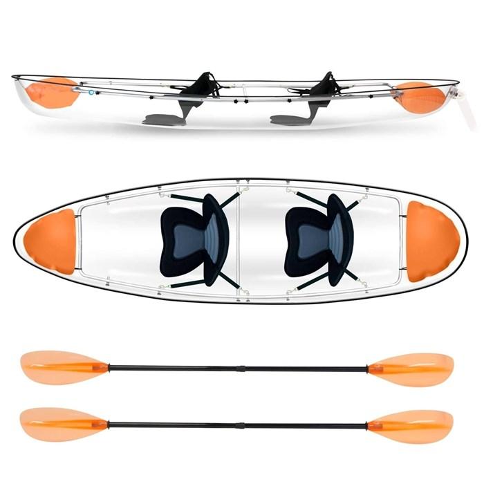 2021 Markab Sports Transparent Tandem canoe Photo 1 sur 5