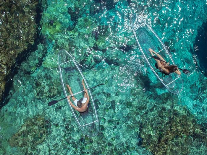 2021 Markab Sports Transparent Tandem canoe Photo 3 sur 5
