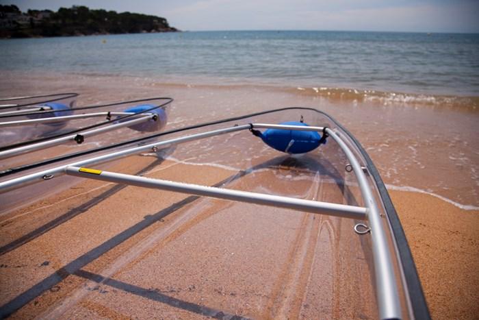 2021 Markab Sports Transparent Tandem canoe Photo 4 sur 5