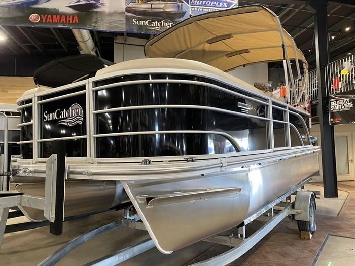 2021 SunCatcher Pontoons by G3 Boats Select 20RC/F60MOTOR/TRAILER Photo 1 sur 9