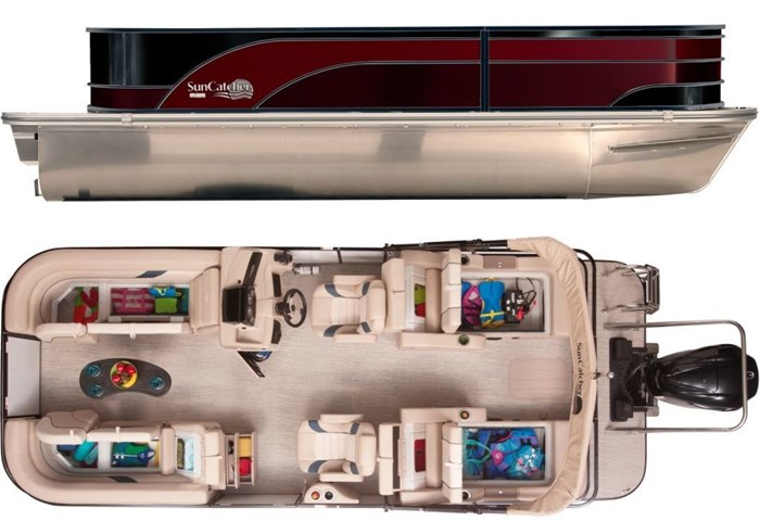 2021 SunCatcher Pontoons by G3 Boats Select 22SS/VMAX90MOTOR/TRAILER! PACKAGE Photo 1 sur 1