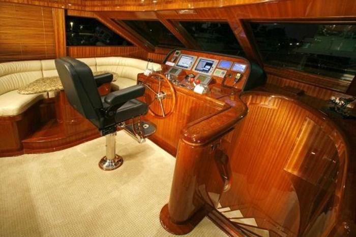 2008 Hampton 630 PH Motoryacht Photo 23 sur 49