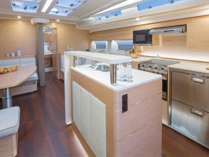 2021 Hanse Yachts 588 Photo 19 sur 26