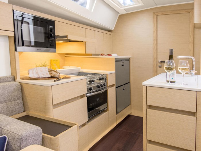 2022 Hanse Yachts 548 Photo 24 sur 36
