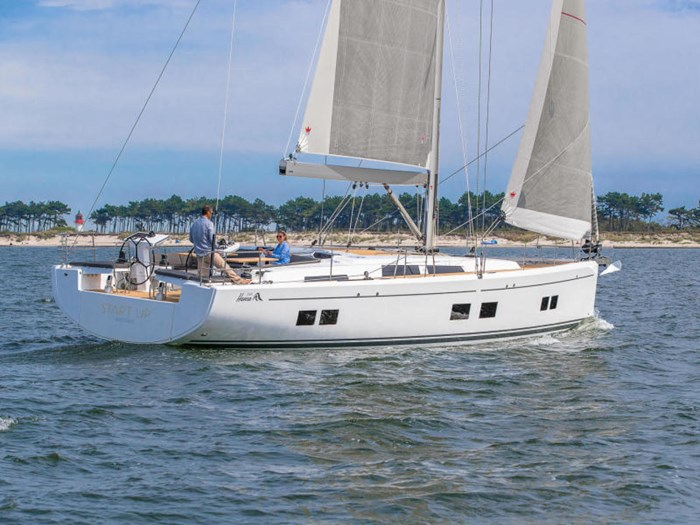 2022 Hanse Yachts 548 Photo 1 of 36