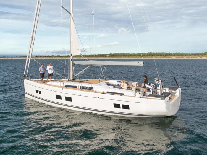 2022 Hanse Yachts 548 Photo 2 of 36