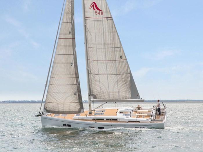 2022 Hanse Yachts 548 Photo 4 of 36