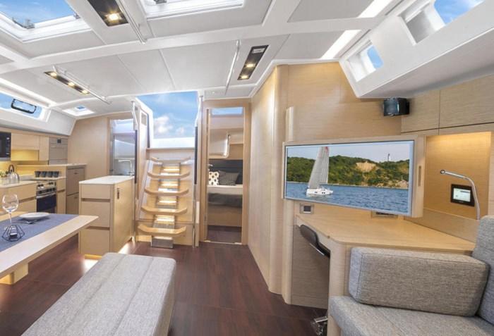 2022 Hanse Yachts 548 Photo 16 sur 36