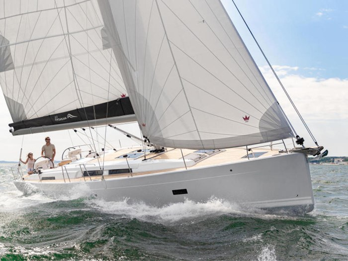 2021 Hanse Yachts 458 Photo 4 of 17