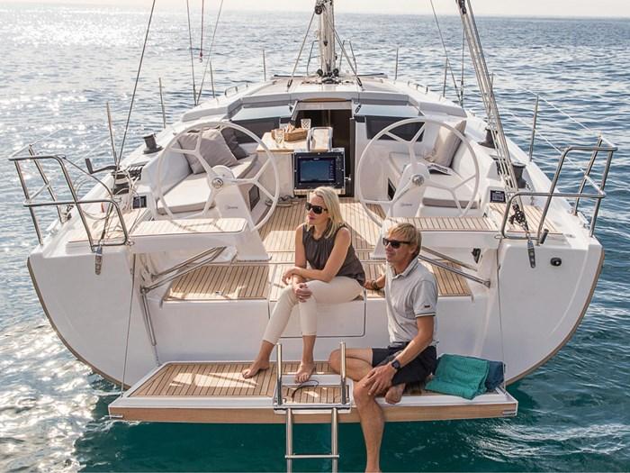 2021 Hanse Yachts 418 Photo 3 sur 39