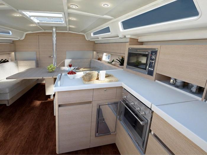 2021 Hanse Yachts 418 Photo 24 sur 39