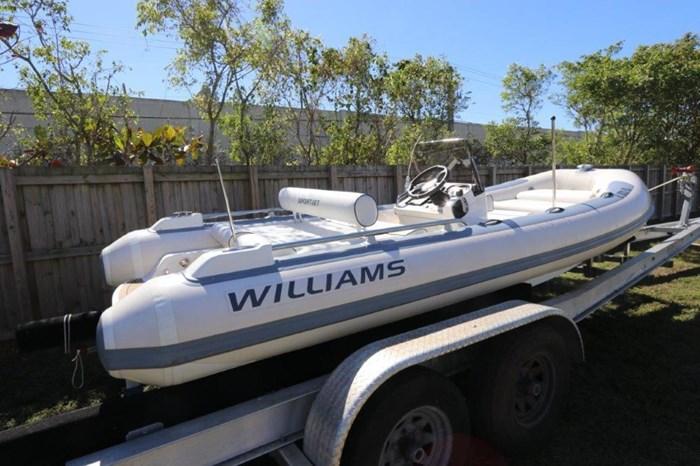 2018 Williams Jet Tenders Sportjet 520 Photo 2 sur 19