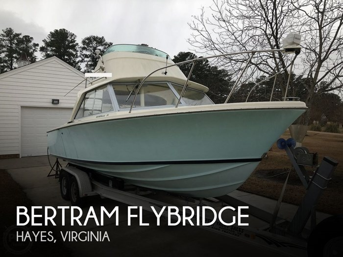 1971 Bertram Flybridge Photo 1 sur 20