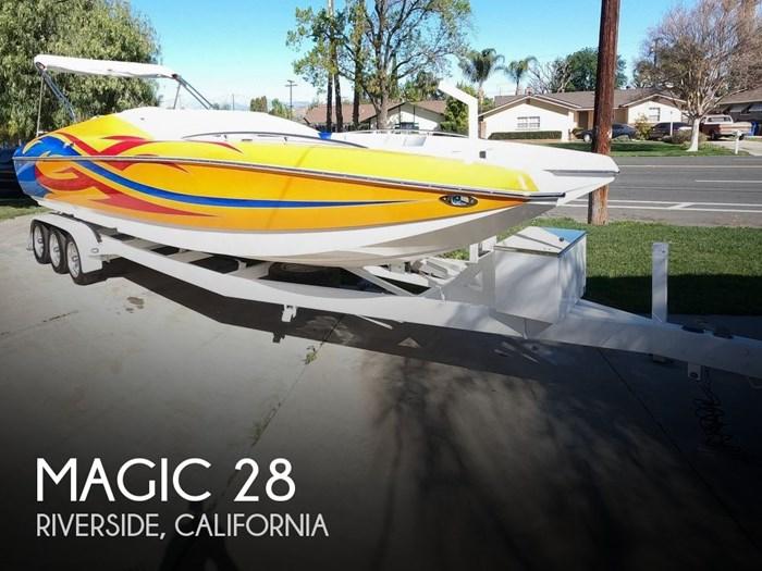 2009 Magic 28 Scepter Open Bow Photo 1 sur 20