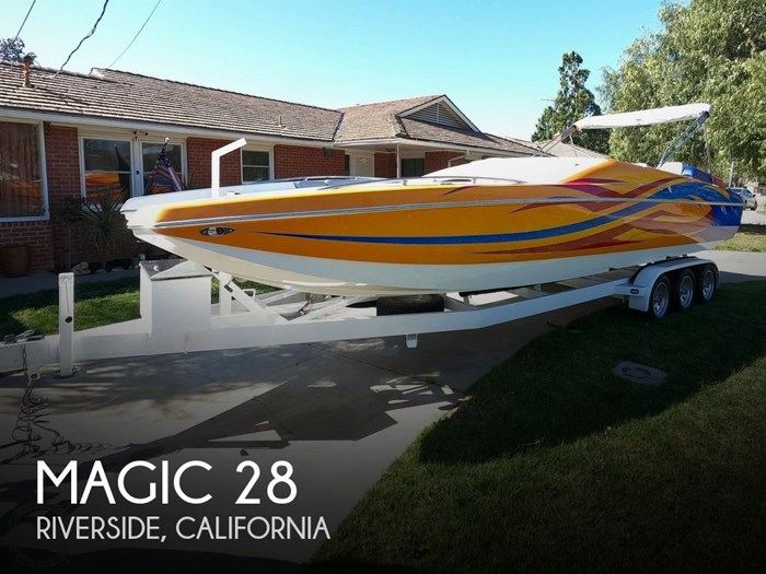 2009 Magic 28 Scepter Open Bow Photo 1 of 20