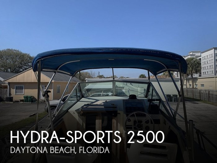 1989 Hydra-Sports Vector 2500WA Photo 1 sur 20