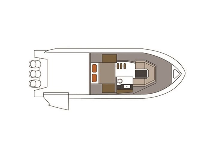 2021 Cruisers Yachts 38 GLS Outboard Photo 4 sur 9