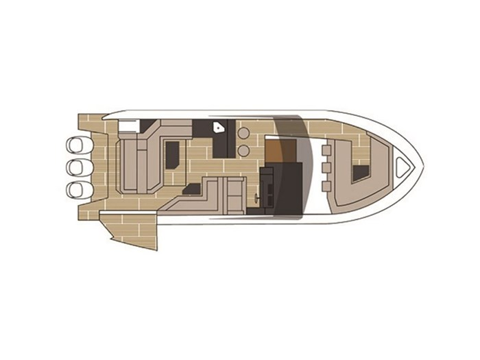 2021 Cruisers Yachts 38 GLS Outboard Photo 5 sur 9