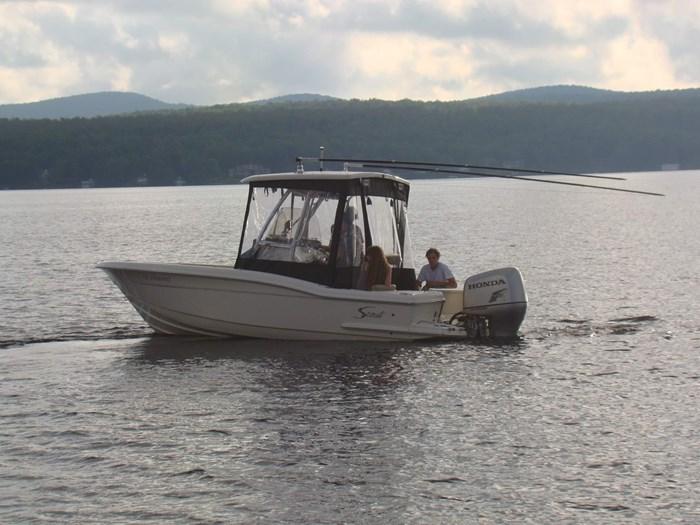 2008 Scout 222 sportfish Photo 8 of 34