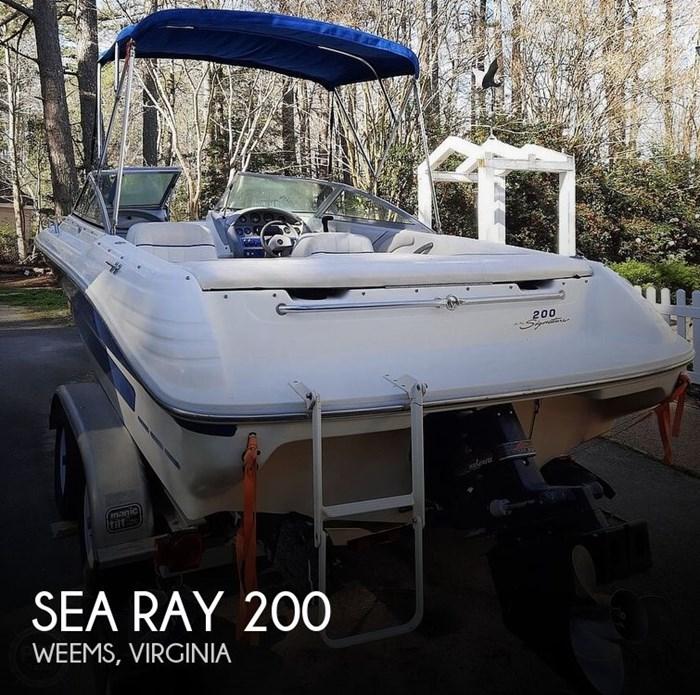 1994 Sea Ray 200 Signature Photo 1 sur 20