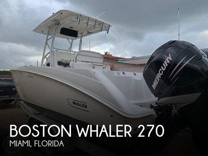 2007 Boston Whaler 270 Outrage Photo 1 sur 20