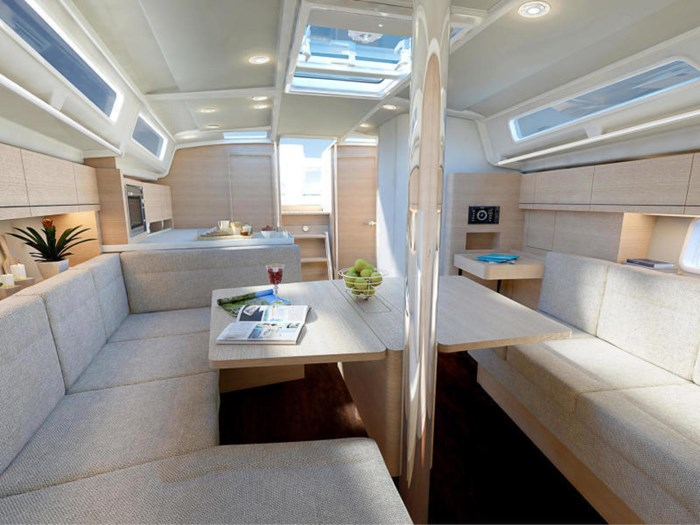 2021 Hanse Yachts 418 #229 Photo 27 sur 39